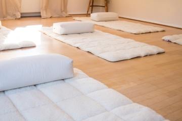 Natürliche Yogamatte