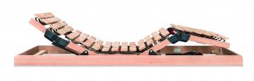 Motorischer Tellerrahmen aus Zirbenholz