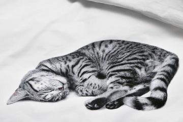 Katzen-Liebhaber-Bettwäsche